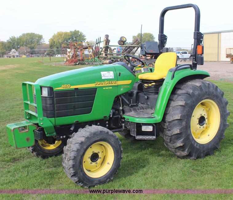 john deere tractors john deere 4610 compact utility John Deere 4610 Craigslist john deere 4600 manual