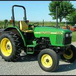 John Deere 5210 Tractor manual