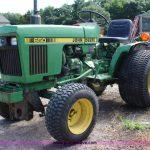 John Deere 650 Tractor manual
