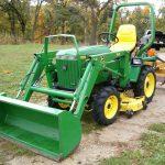 John Deere 655 Compact Utility Tractor manual
