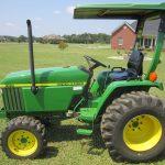 John Deere 790 Compact Utility Tractor service repair manual