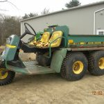 John Deere AMT 622 All Material Transporter manual