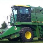 John Deere Sidehill 6620 Combine manual