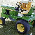 John Deere Hydrostatic Tractor 120 manual