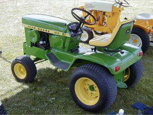 John Deere Hydrostatic Tractor 120 manual