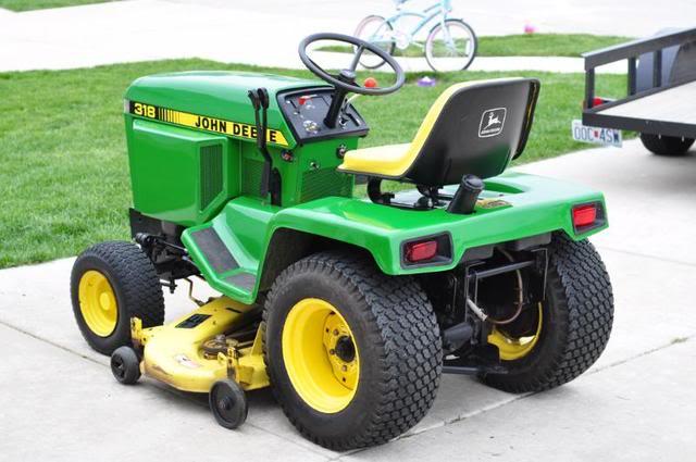 John Deere 318 >> John Deere 318 Lawn And Garden Tractor Service Manual Download John Deere Tractors