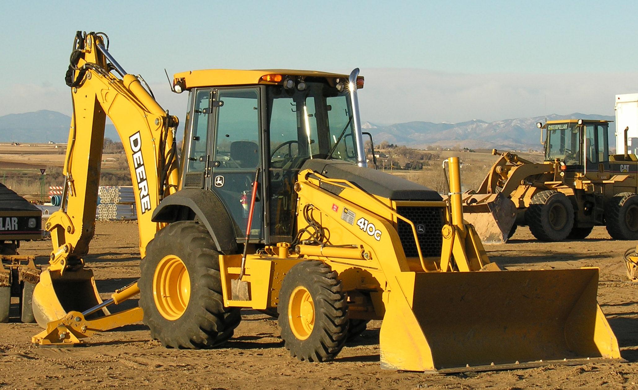 John Deere 410G Backhoe Loader Operators Manual Download - John Deere  Tractors