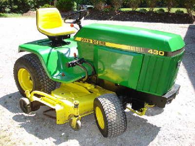 John Deere 430 Lawn And Garden Tractor Service Manual