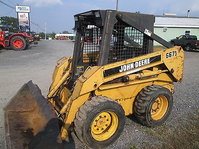 John Deere Skid Steer >> John Deere 6675 Skid Steer Loader Service Manual Download John