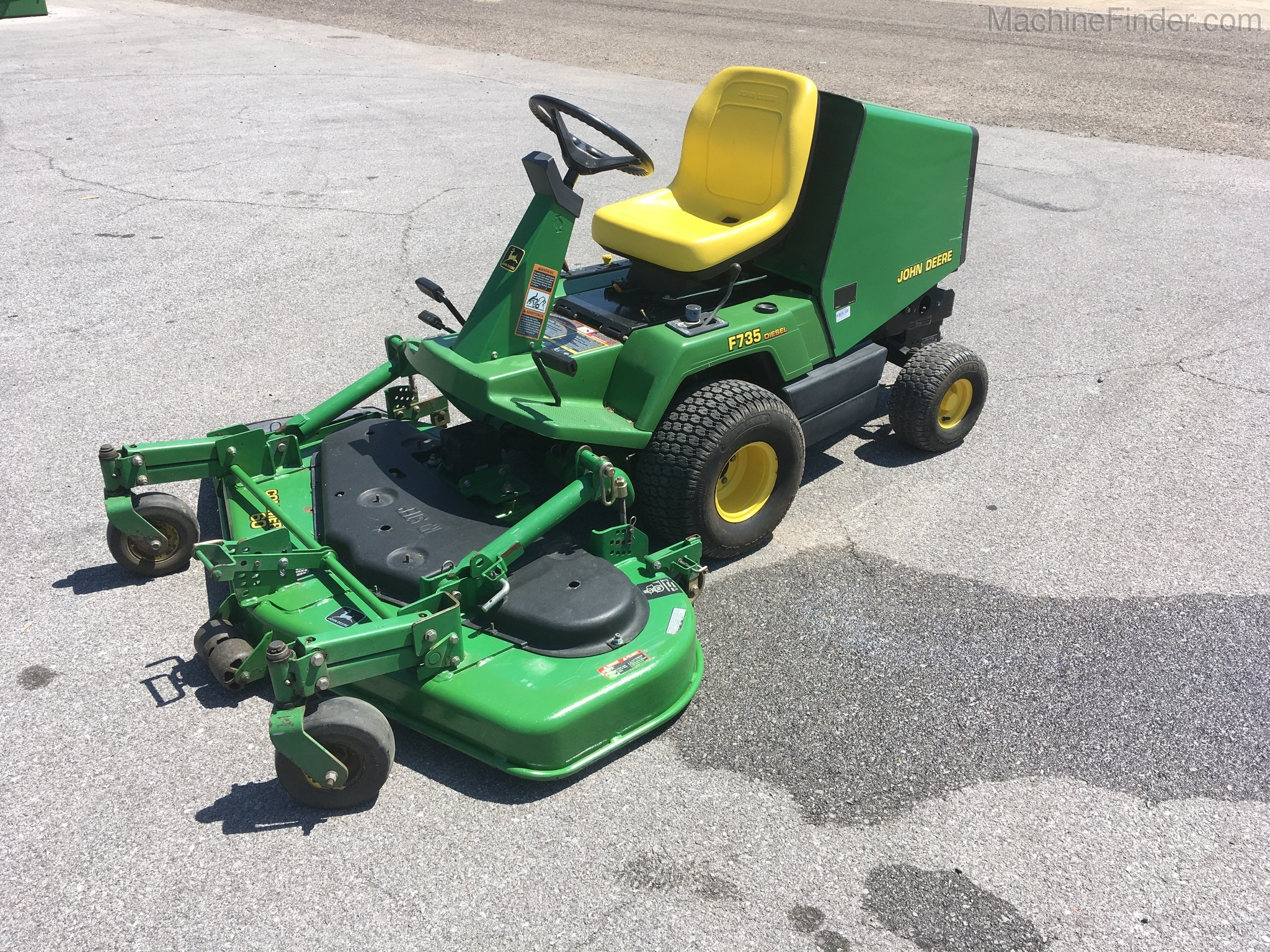 John Deere F735 Front Mower Service Manual Download John border=