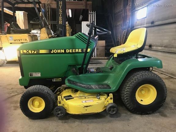 John Deere 172 Lawn Tractor : John deere tractors lx lawn and garden
