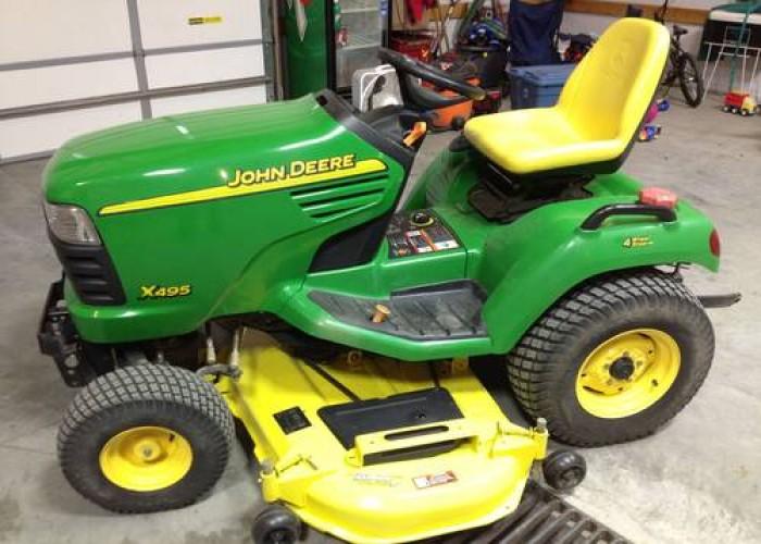 john deere tractors john deere x495 lawn and garden tractor service rh deeretractors org john deere d110 lawn tractor owner's manual john deere riding mower owners manual l110