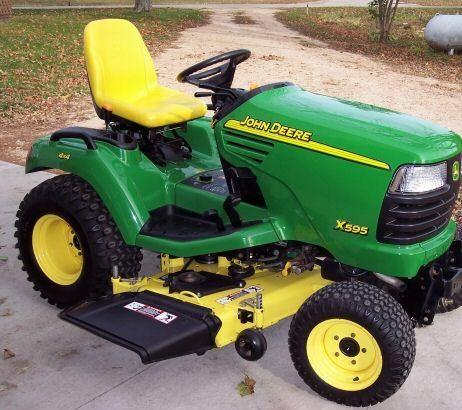 john deere x595 lawn and garden tractor service manual download rh deeretractors org john deere x595 manual pdf John Deere X585